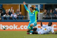 CCL: Sounders-Caledonia: Servando Carrasco