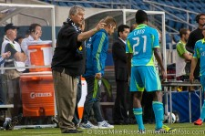CCL: Sounders-Caledonia: Sigi Schmid instructs Cordell Cato
