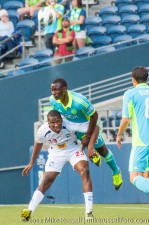 CCL: Sounders-Caledonia: Jhon Kennedy Hurtado