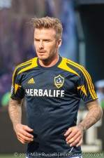 Sounders-LA Galaxy: David Beckham