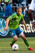 Sounders-LA Galaxy: Ozzie Alonso