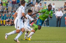 Sounders-LA Galaxy: Eddie Johnson