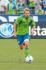 Sounders-LA Galaxy: Adam Johannson