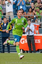 Sounders-LA Galaxy: Christian Tiffert makes his first appearance as a Sounder