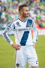 Sounders-LA Galaxy: David Beckham is not impressed