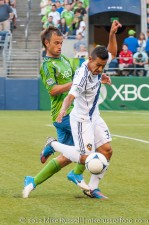Sounders-LA Galaxy: Pat Ianni and Jose Villarreal