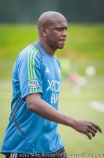 Sounders-Galaxy Reserves: Reserves coach Ezra Hendrickson