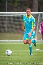 Sounders-Galaxy Reserves: Mike Seamon