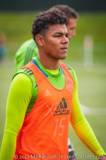 Sounders-Galaxy Reserves: Honduran Olympian Mario Martinez