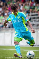 Sounders-Galaxy Reserves: Mario Martinez