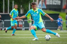 Sounders-Galaxy Reserves: Marc Burch