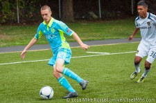 Sounders-Galaxy Reserves: Kyle Bjornethun