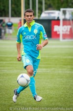 Sounders-Galaxy Reserves: Servando Carrasco