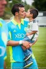 Sounders-Galaxy Reserves: Sammy Ochoa, awwww...