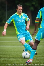 Sounders-Galaxy Reserves: Zach Scott