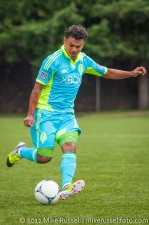 Sounders-Galaxy Reserves: New Sounder Mario Martinez