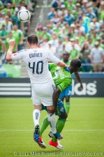 Sounders-Vancouver: Andy O'Brien and Eddie Johnson