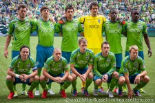 Sounders-Vancouver: Sounders starting 11