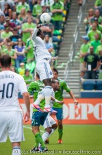 Sounders-Vancouver: Darren Mattocks has quite the vertical leap