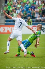 Sounders-Vancouver: Kenny Miller and Ozzie Alonso
