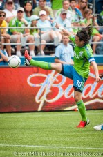 Sounders-Vancouver: Mauro Rosales