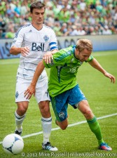 Sounders-Vancouver: Adam Johansson and Alain Rochat