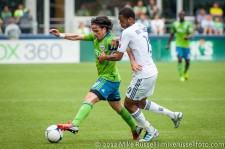 Sounders-Vancouver: Mauro Rosales and Carlyle Mitchell