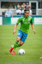 Sounders-Vancouver: Fredy Montero comes in as a sub