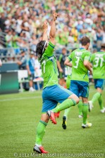 Sounders-Vancouver: Fredy Montero 'Felixing' after goal