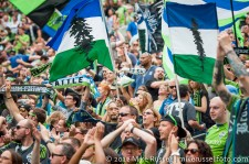 Sounders-Vancouver: Celebrating the win