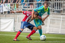 Sounders-Chivas Reserves: Alex caskey