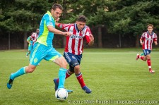Sounders-Chivas Reserves: Mike Seamon