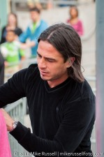 Sounders-Chivas Reserves: Mauro Rosales signing autographs