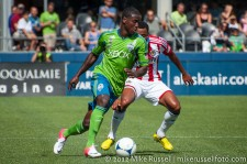 Sounders-Chivas: Eddie Johnson