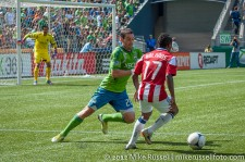 Sounders-Chivas: Zach Scott and Miller Bolanos