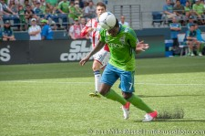 Sounders-Chivas: Eddie Johnson scores the winner, his second