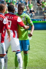 Sounders-Chivas: Steve Zakuani and James Riley