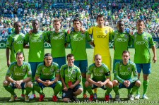 Sounders-Chivas: Sounders starting eleven
