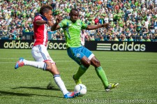 Sounders-Chivas: Jhon Kennedy Hurtado and Juan Agudelo