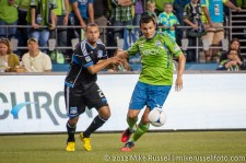 Sounders-Earthquakes: Sammy Ochoa and Jason Hernandez