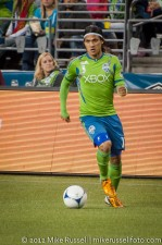 Sounders-Earthquakes: Fredy Montero