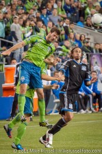 Sounders-Earthquakes: Brad Evans and Alan Gordon