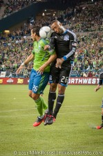 Sounders-Earthquakes: Sammy Ochoa and Victor Bernardez