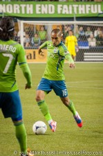 Sounders-Earthquakes: David Estrada
