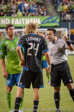 Sounders-Earthquakes: Jeff Parke and Steven Lenhart
