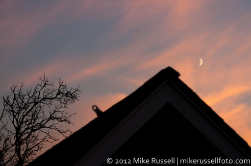 Day 308: Sunset and Moon