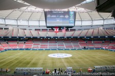 Sounders-Whitecaps: BC Place before the match