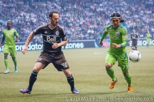 Sounders-Whitecaps: Andy O'Brien and Fredy Montero