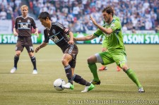 Sounders-Whitecaps: Y.P. Lee and Brad Evans