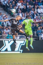 Sounders-Whitecaps: Jay DeMerit and Eddie Johnson